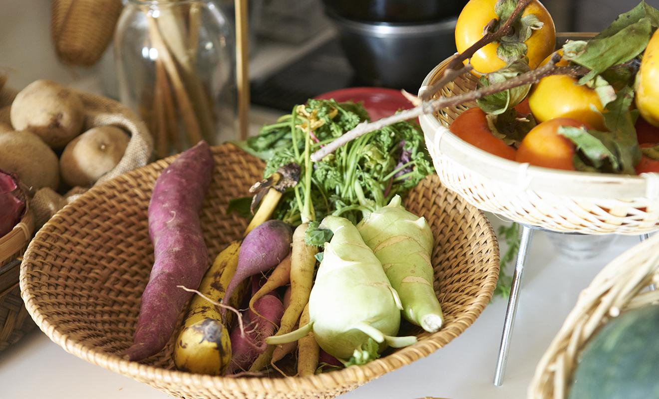 オーガニック野菜たち