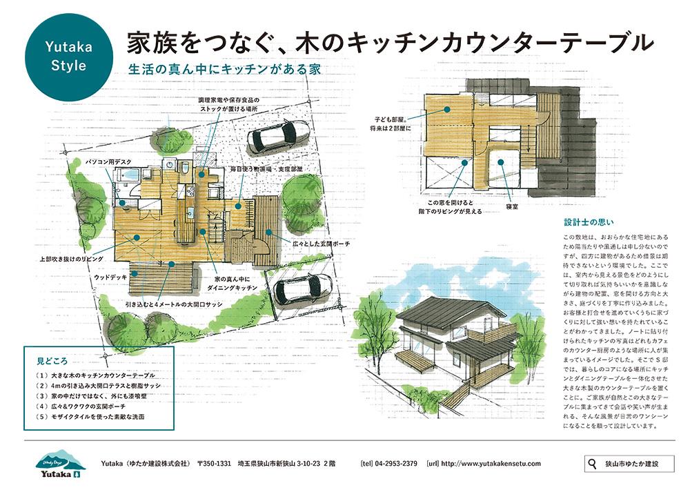 Yutaka建物見学会チラシ裏